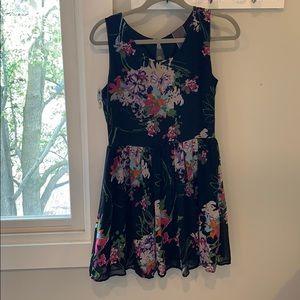 Moon Collection Black Floral Dress | Modcloth